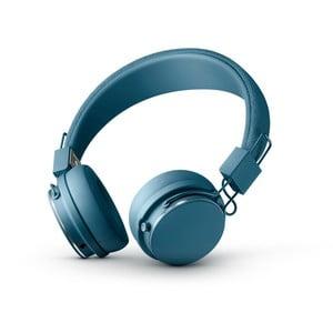 Modrá bezdrátová Bluetooth sluchátka s mikrofonem Urbanears PLATTAN II BT Indigo