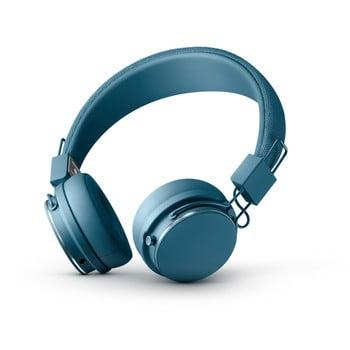 Căști audio Bluetooth cu microfon Urbaneras PLATTAN ll BT Indigo, albastru de la Urbanears