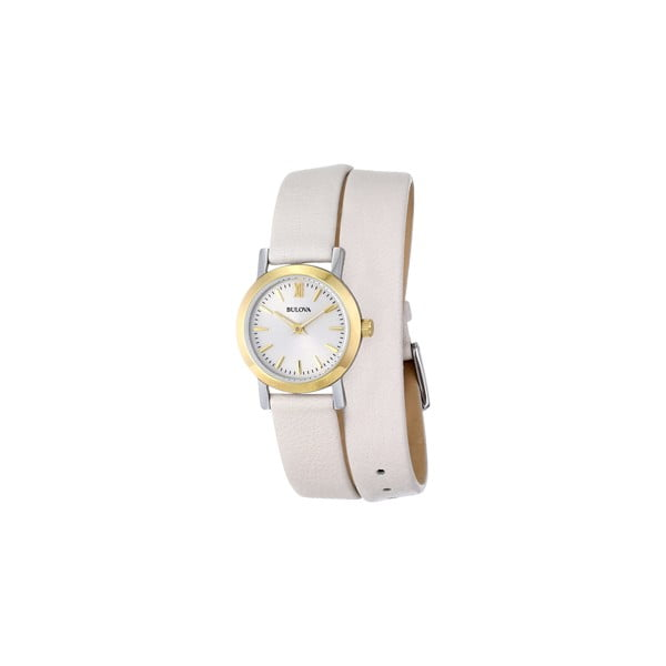 Dámské hodinky Bulova 98193 Cream/Grey