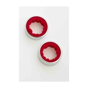 Sada 2 kroužků na víno Steel Function Wine Rings