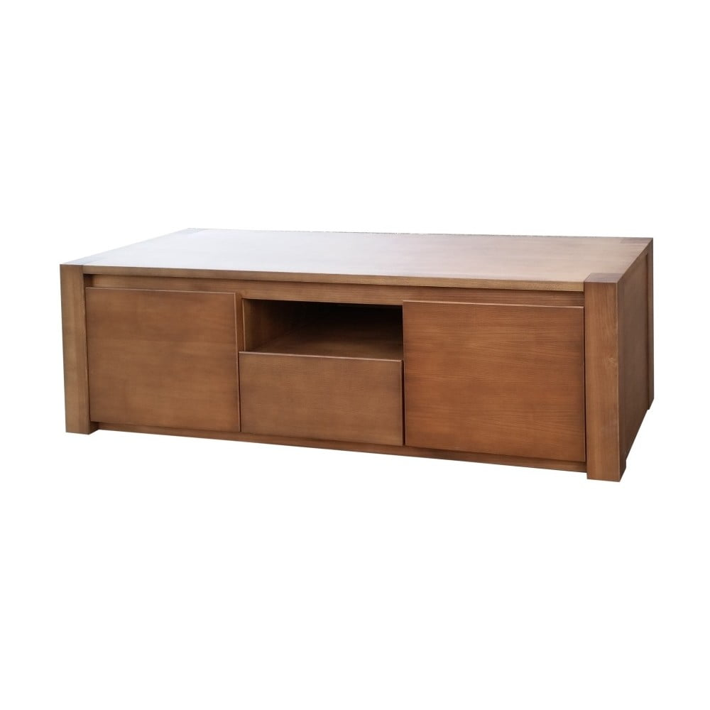TV stolek z jasanového dřeva Castagnetti Ash