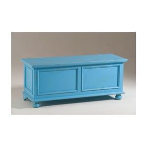 Ladă din lemn Castagnetti Chest, albastru