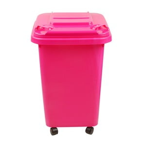 Úložná popelnice Wheelie Pink