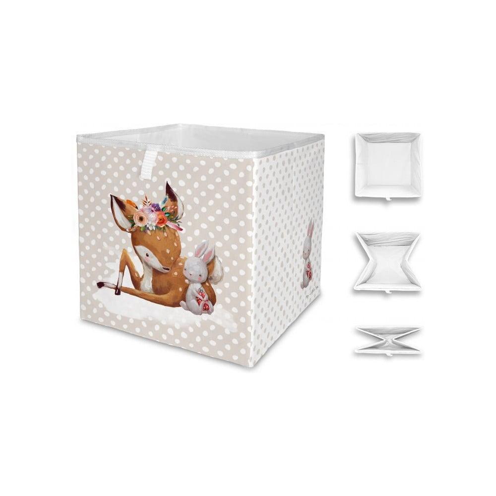 Dětský úložný box Mr. Little Fox Doe and Her Friend