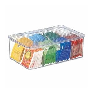 Box na čajové sáčky iDesign Binz Tea, 27,5x18,5cm