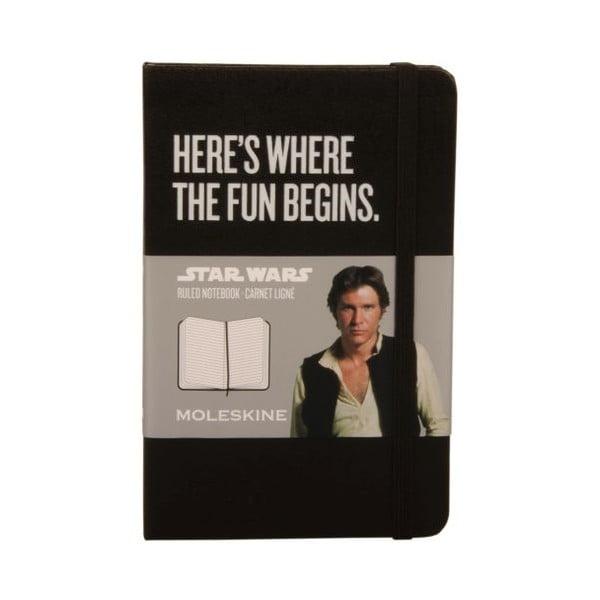 Zápisník Star Wars, linkovaný