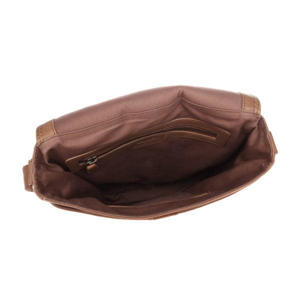 Kožená taška Barnby Chestnut