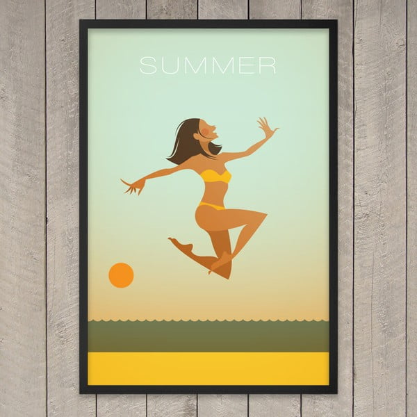 Plakát Summer, 29,7x42 cm