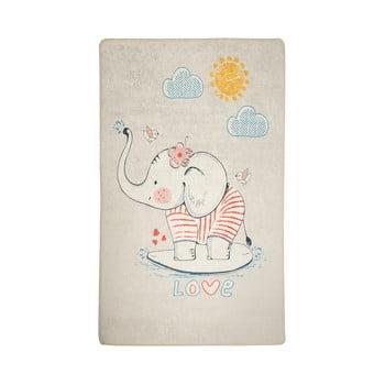 Covor antiderapant pentru copii Lovely,140x190cm imagine