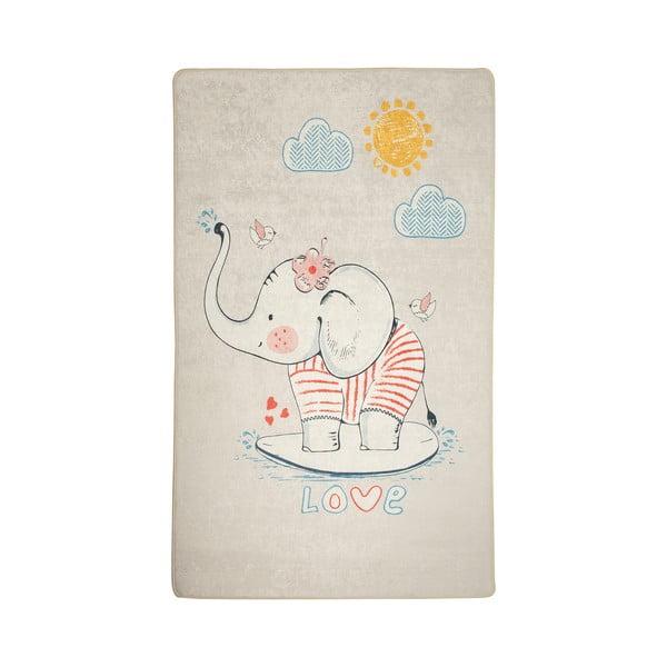 Dětský protiskluzový koberec Chilai Lovely,100x160cm