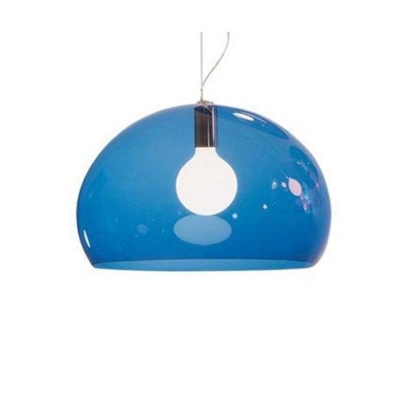 Petrolejově modré  stropní svítidlo Kartell Fly