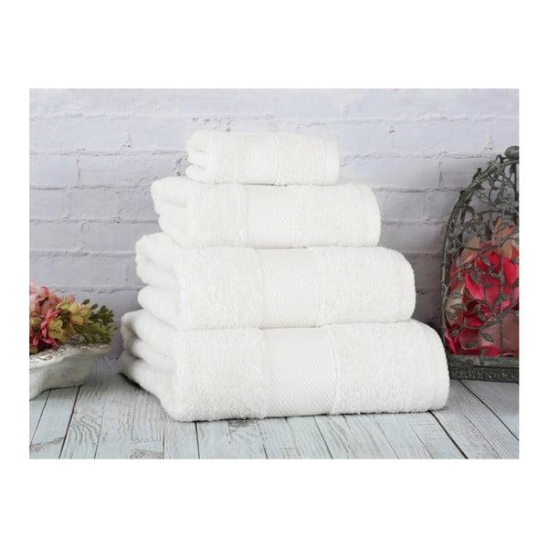 Bílý ručník Irya Home Coresoft, 50x90 cm