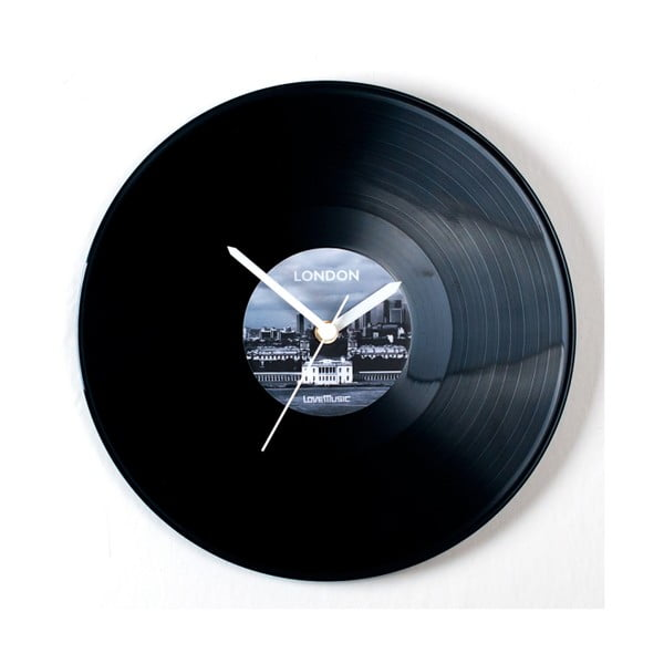 Vinylové hodiny London
