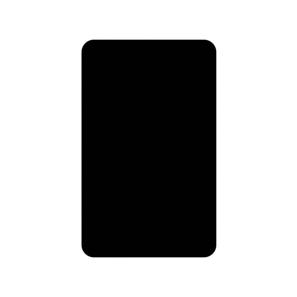Set 2 skleněných krytů na sporák Wenko Universal black