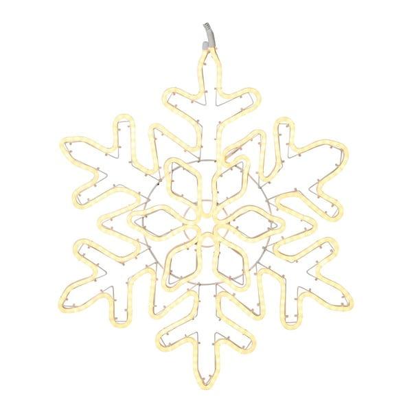 Decorațiune suspendată luminoasă cu LED Best Season NeoLED Snowflake Gold