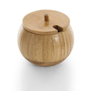 Bambusová cukřenka s víčkem Bambum Goccia