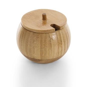 Zaharniță cu capac din bambus Bambum Goccia
