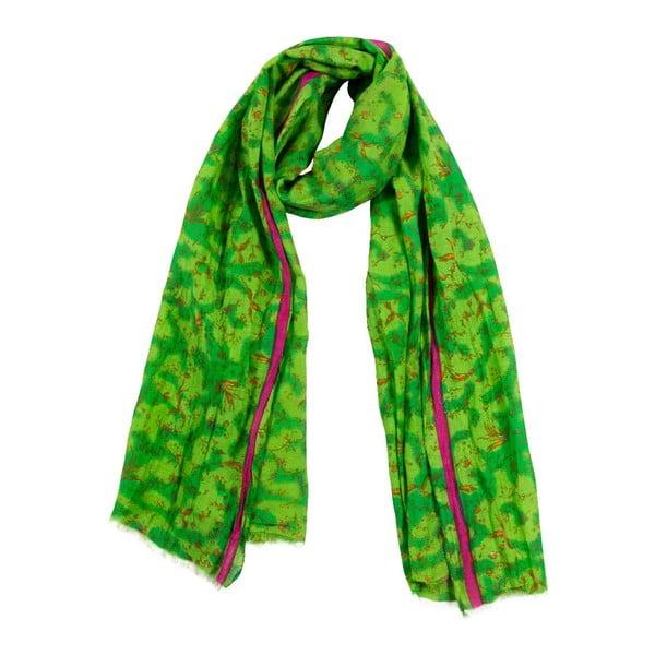 Šátek s příměsí hedvábí Shirin Sehan - Pia Grass