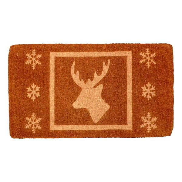 Rohožka Christmas Deer Brown, 73x45 cm