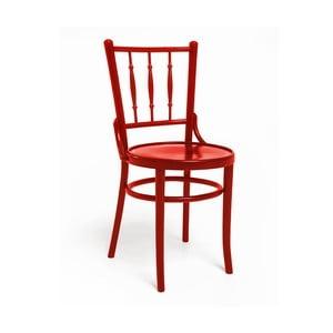 Červená jídelní židle Woodman Hertford model 6020