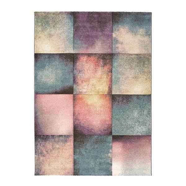 Covor Universal Pinky Squaro Multi, 80 x 150 cm