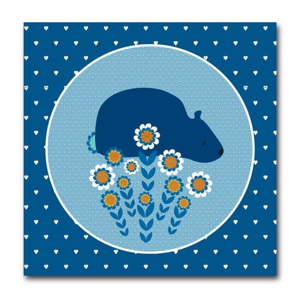 Plakát Medvěd, malý