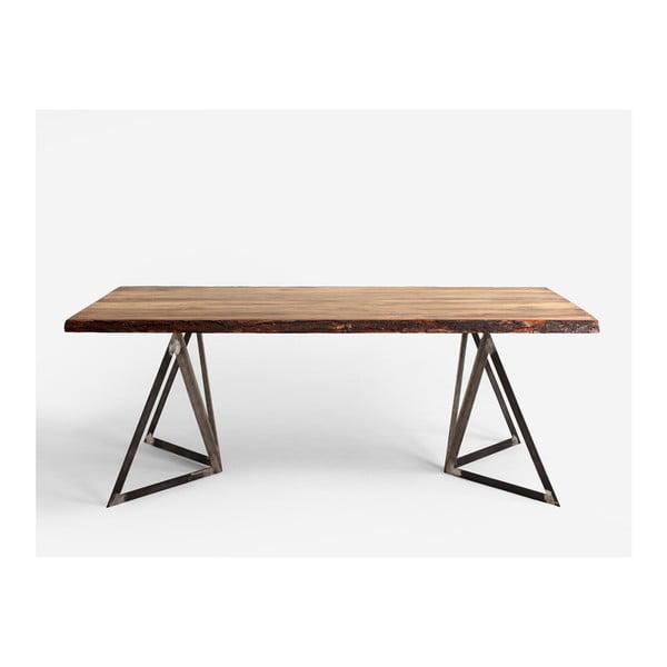 Jídelní stůl s deskou z borovicového dřeva Custom Form Sherwood,180x90cm