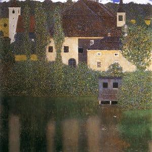 Tablou Gustav Klimt - Water Castle, 70x70 cm