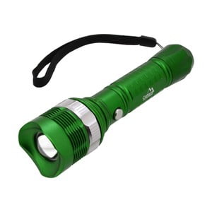 Lanternă LED Cattara ZOOM, verde