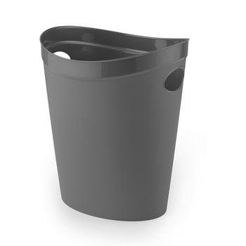 Coș de gunoi pentru hârtie Addis Flexi, 27 x 26 x 34 cm, gri imagine
