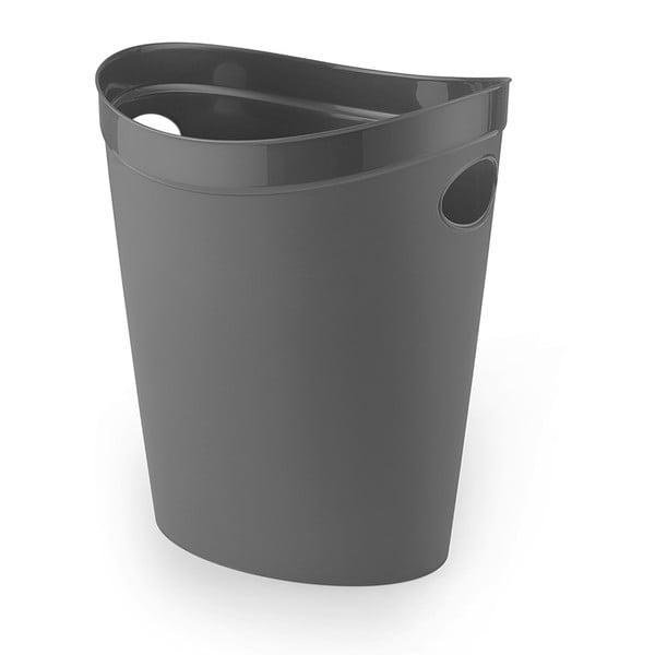 Coș de gunoi pentru hârtie Addis Flexi, 27 x 26 x 34 cm, gri