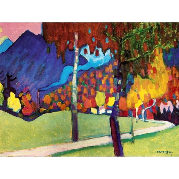 Reproducere tablou Vasilij Kandinskij - Abstract, 80 x 60 cm
