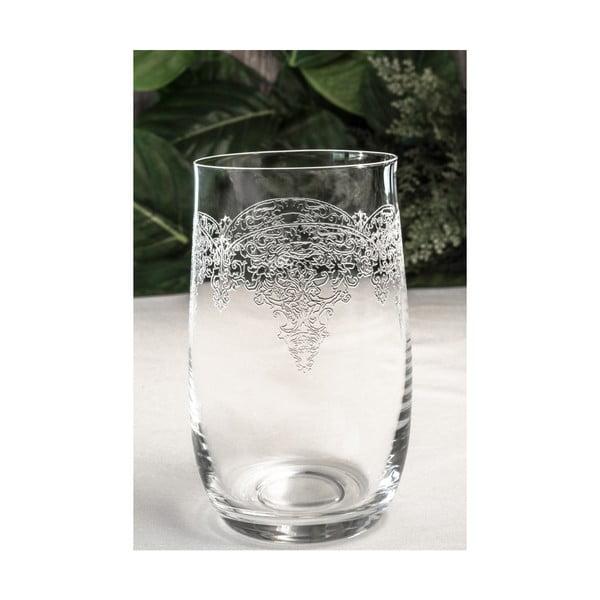 Sada 6 skleněných skleniček Damon