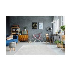 Bílý ručně vyšívaný koberec Arte Espina Rabbit 100, 180x280cm