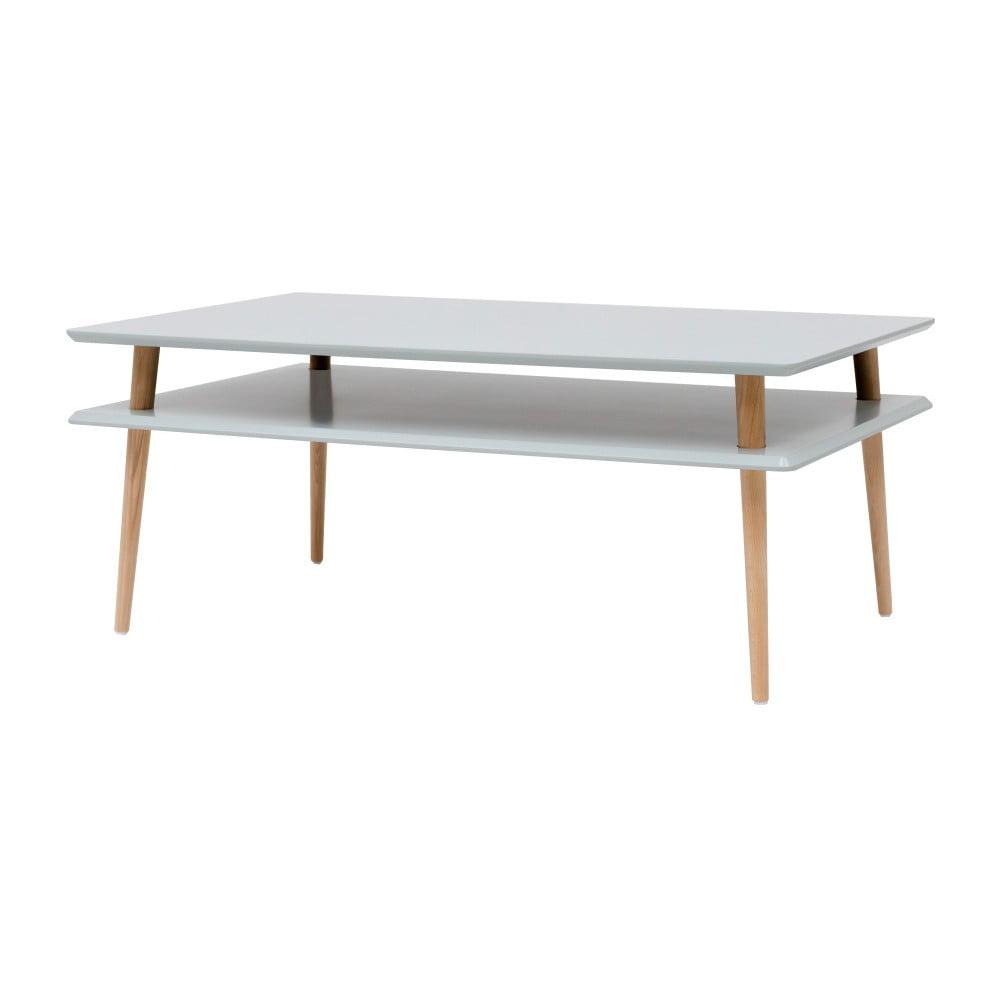 Světle šedý konferenční stolek Ragaba KORO