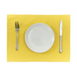 Sada 2 žlutých prostírání Apolena Simply Yellow, 33x45 cm