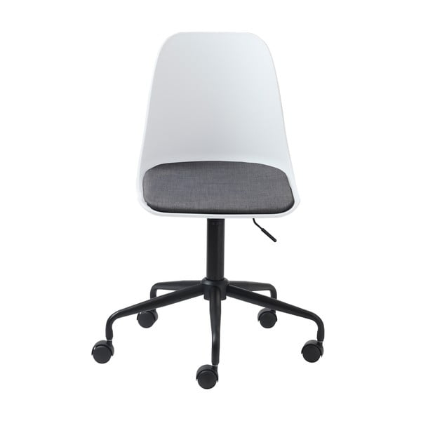 Białe krzesło biurowe Unique Furniture