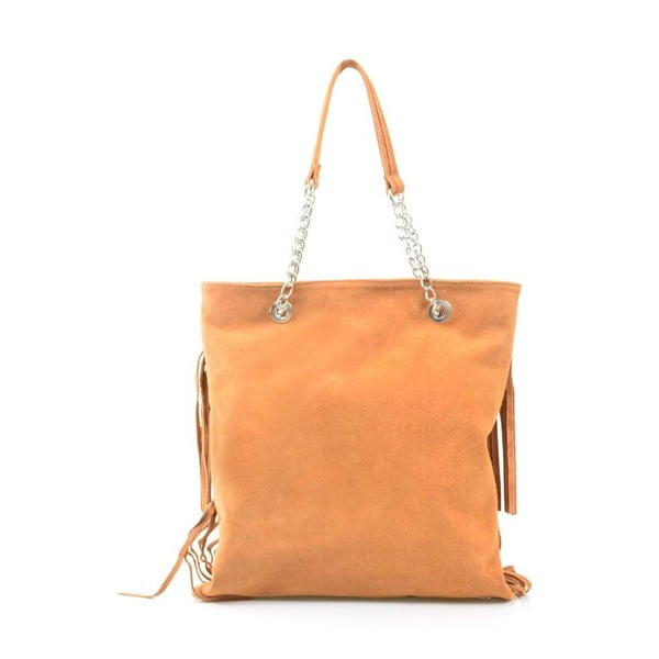 Kožená kabelka Marianne, velbloudí
