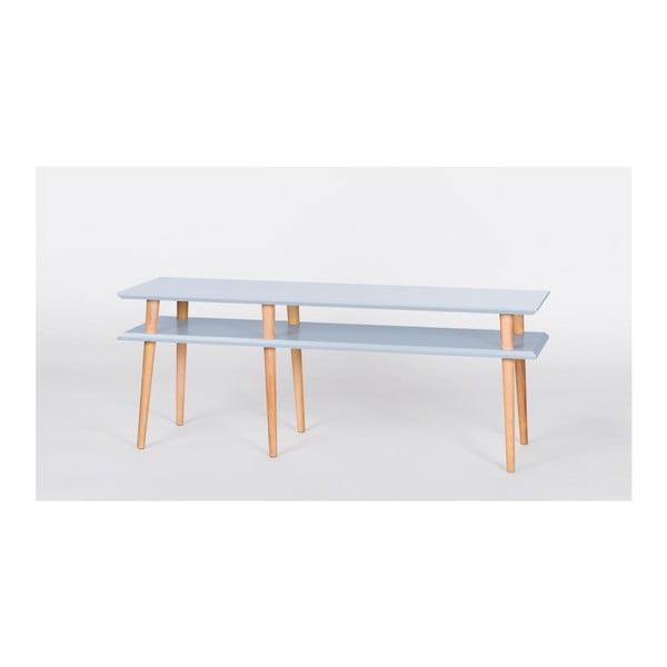 Světle šedý konferenční stolek Ragaba Mugo,délka139cm