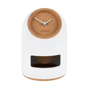 Ceas de masă Zuiver Uno, alb