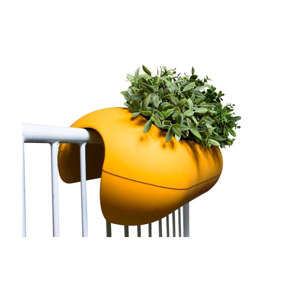 Květináč Balconismo, oranžový