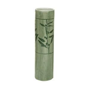 Zelená kameninová váza Santiago Pons Florist, výška 38,5cm