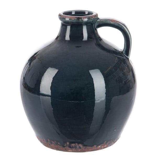Váza Petrol, výška 23 cm