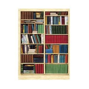 Čtyřdílná fototapeta Knihovna, 183 x 254 cm