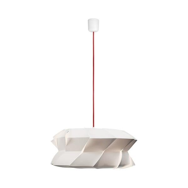 Závěsné svítidlo Quartz white/red