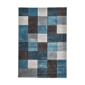 Modrošedý koberec Think Rugs Brooklyn, 120x170cm