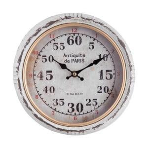 Nástěnné hodiny Clayre&Eef Gulina, ⌀ 24 cm