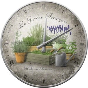 Hodiny Le Jardin Francais, 31 cm