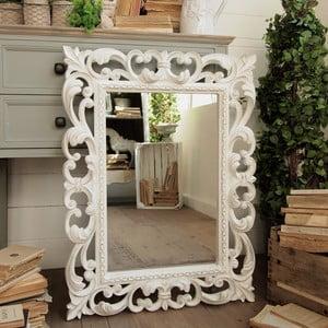 Zrcadlo Ravenna White Antique, 65 x 85 cm