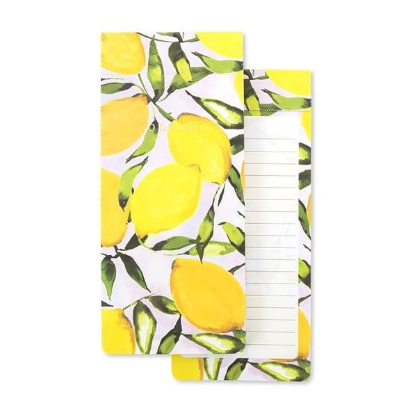 Caiet notițe GO Stationery Lemons, galben